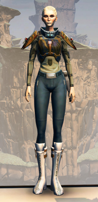 CZ-5 Armored Assault Harness Armor Set Outfit from Star Wars: The Old Republic.