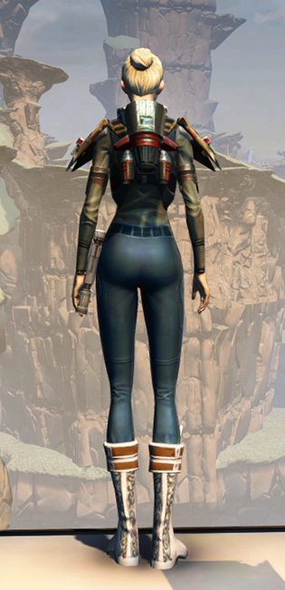 CZ-5 Armored Assault Harness Armor Set player-view from Star Wars: The Old Republic.