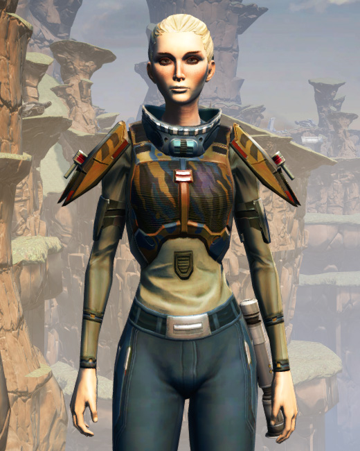 CZ-5 Armored Assault Harness Armor Set Preview from Star Wars: The Old Republic.
