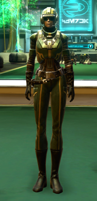 Czerka Security Armor Set Outfit from Star Wars: The Old Republic.