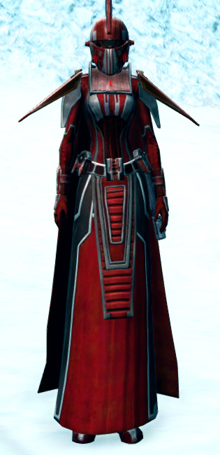 Dark Praetorian Armor Set Outfit from Star Wars: The Old Republic.