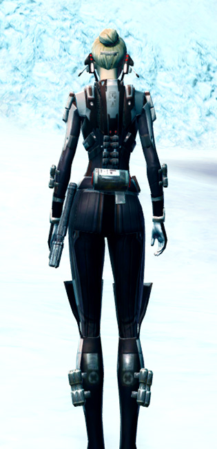 Deadeye Armor Set player-view from Star Wars: The Old Republic.