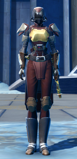 Defiant Asylum MK-16 (Synthweaving) Armor Set Outfit from Star Wars: The Old Republic.