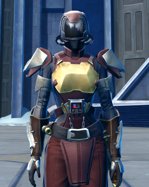 Defiant Asylum MK-16 (Synthweaving) Armor Set Preview from Star Wars: The Old Republic.