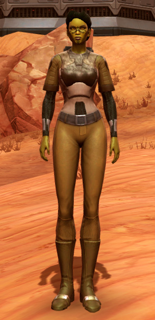 Dense Cuirass (Imperial) Armor Set Outfit from Star Wars: The Old Republic.