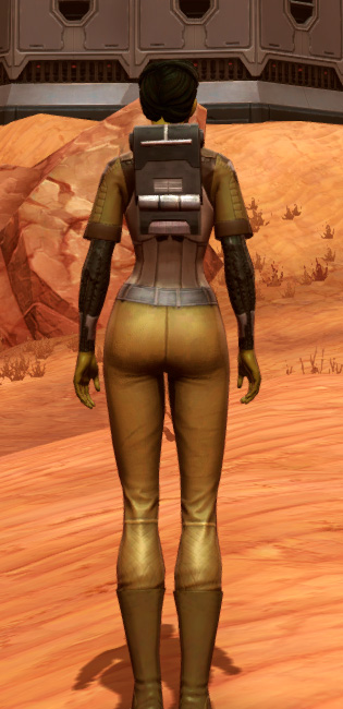Dense Cuirass (Imperial) Armor Set player-view from Star Wars: The Old Republic.