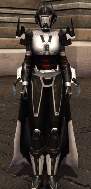 Descent of the Fearless Armor Set Outfit from Star Wars: The Old Republic.