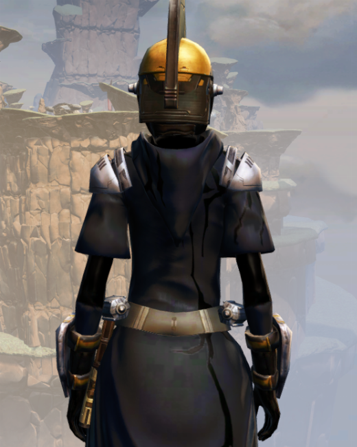 Destroyer Armor Set Back from Star Wars: The Old Republic.
