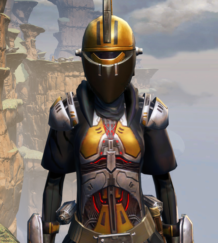 Destroyer Armor Set from Star Wars: The Old Republic.