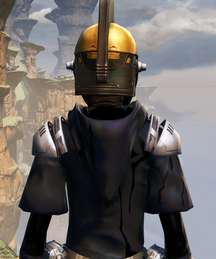 Destroyer Armor Set detailed back view from Star Wars: The Old Republic.