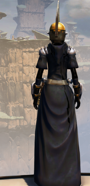 Destroyer Armor Set player-view from Star Wars: The Old Republic.