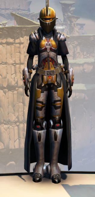 Destroyer Armor Set Outfit from Star Wars: The Old Republic.