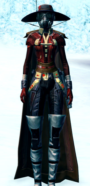 Devious Outlaw Armor Set Outfit from Star Wars: The Old Republic.