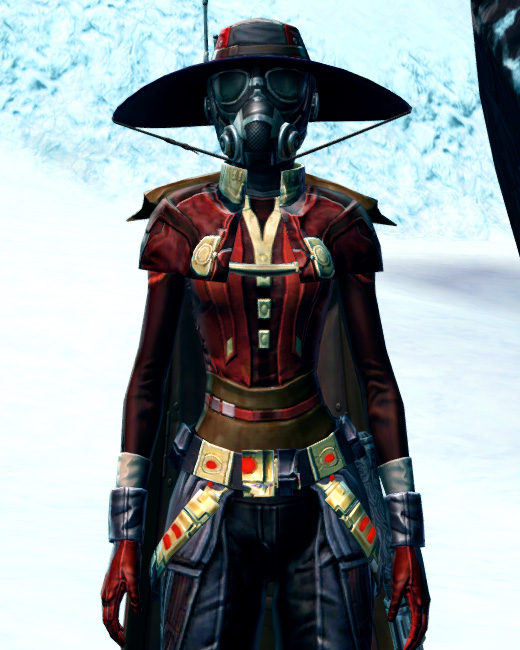 Devious Outlaw Armor Set Preview from Star Wars: The Old Republic.