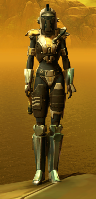 Diatium Onslaught Armor Set Outfit from Star Wars: The Old Republic.