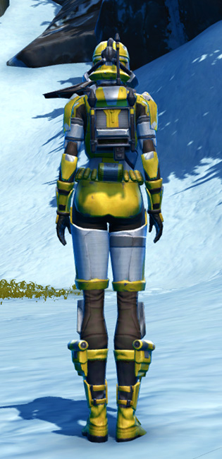 Diatium Onslaught Armor Set player-view from Star Wars: The Old Republic.