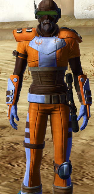 Discharged Infantry dyed in SWTOR.