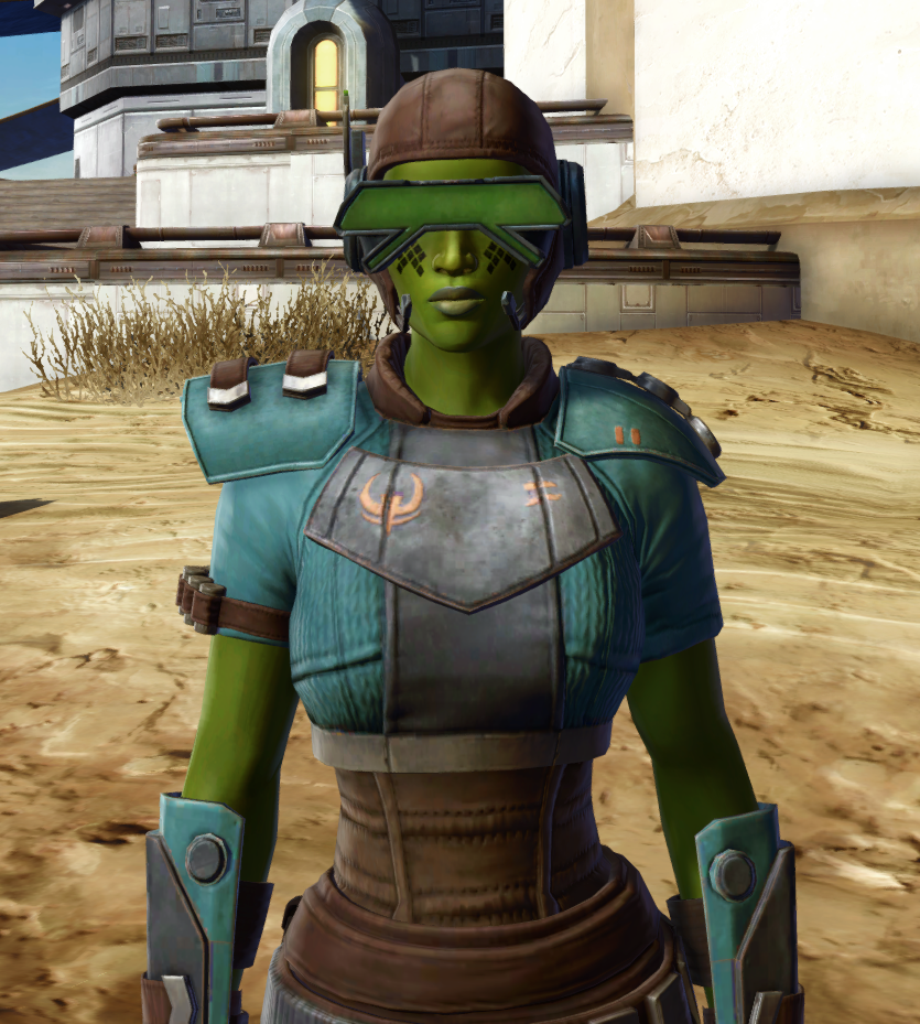 Discharged Infantry Armor Set from Star Wars: The Old Republic.