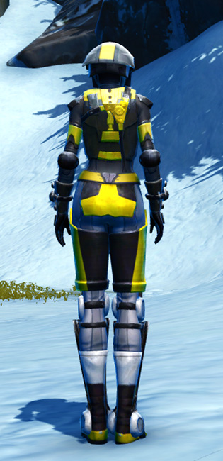 Dread Host Armor Set player-view from Star Wars: The Old Republic.