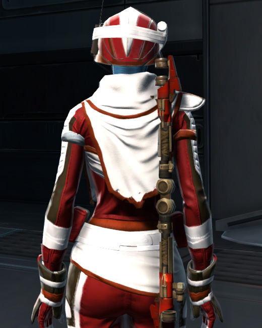 Dreamsilk Force Expert Armor Set Back from Star Wars: The Old Republic.