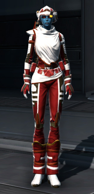 Dreamsilk Force Expert Armor Set Outfit from Star Wars: The Old Republic.