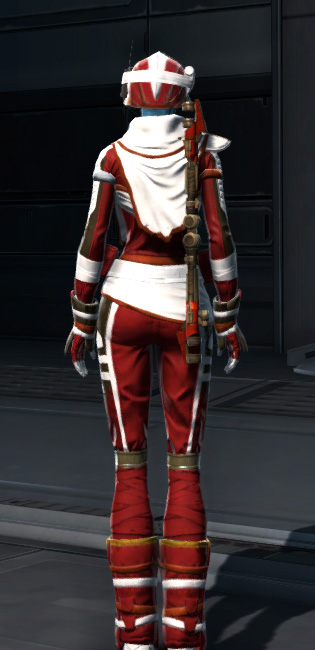 Dreamsilk Force Expert Armor Set player-view from Star Wars: The Old Republic.