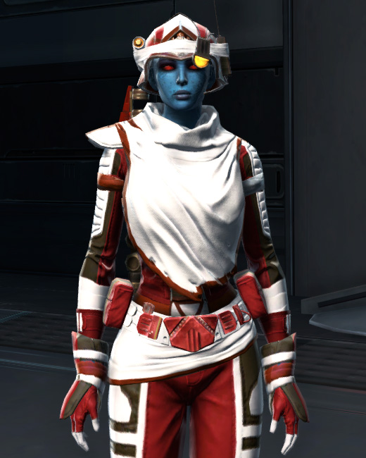 Dreamsilk Force Expert Armor Set Preview from Star Wars: The Old Republic.