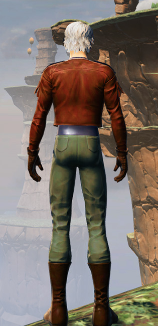 Drelliad Armor Set player-view from Star Wars: The Old Republic.
