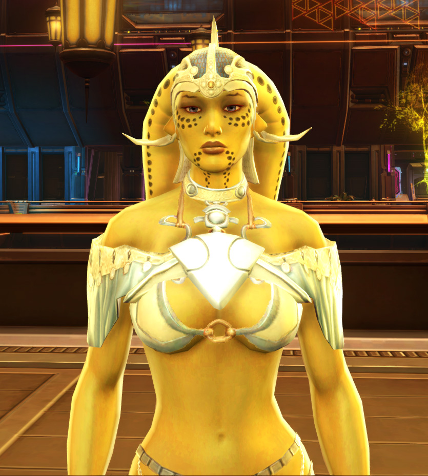 Elegant Loungewear Armor Set from Star Wars: The Old Republic.