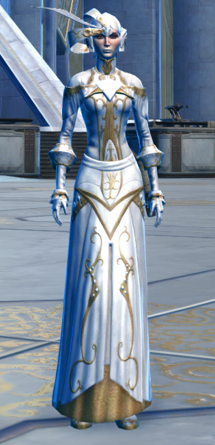Elegant Armor Set Outfit from Star Wars: The Old Republic.