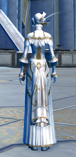 Elegant Armor Set player-view from Star Wars: The Old Republic.