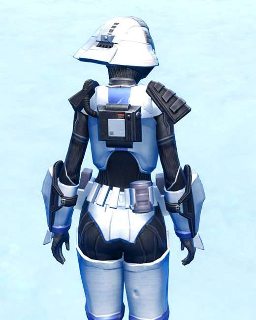 Elite Gunner Armor Set Back from Star Wars: The Old Republic.