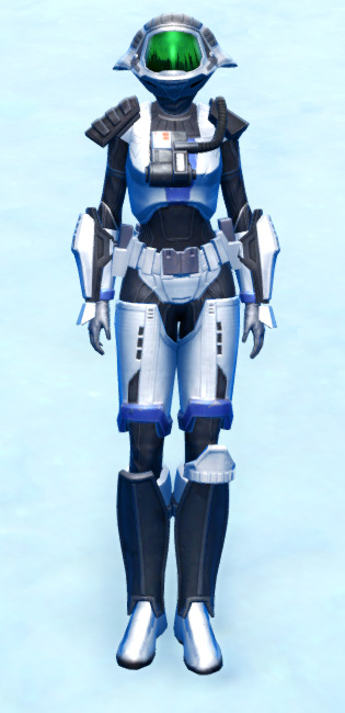 Elite Gunner Armor Set Outfit from Star Wars: The Old Republic.