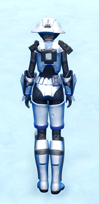 Elite Gunner Armor Set player-view from Star Wars: The Old Republic.