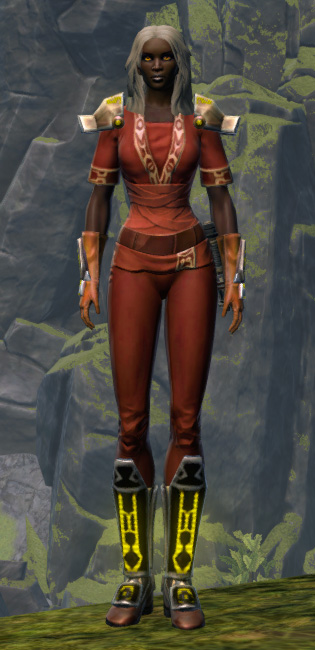 Energetic Champion Armor Set Outfit from Star Wars: The Old Republic.