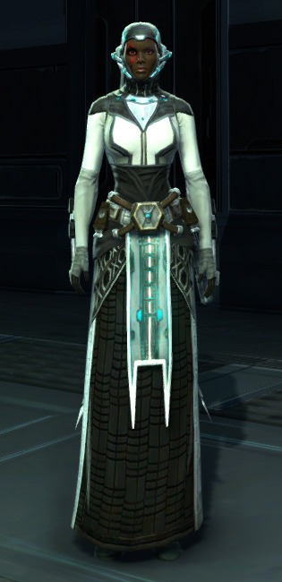 Energetic Combatant Armor Set Outfit from Star Wars: The Old Republic.