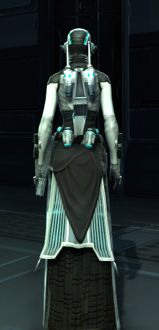 Energetic Combatant Armor Set player-view from Star Wars: The Old Republic.