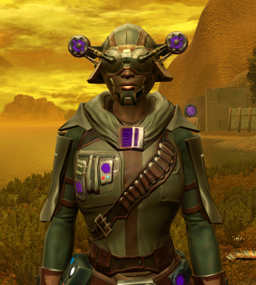 Energized Manhunter Armor Set from Star Wars: The Old Republic.