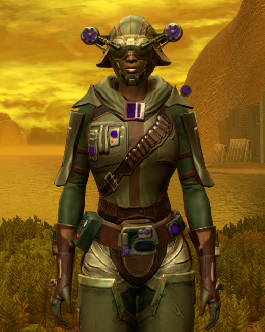 Energized Manhunter Armor Set Preview from Star Wars: The Old Republic.