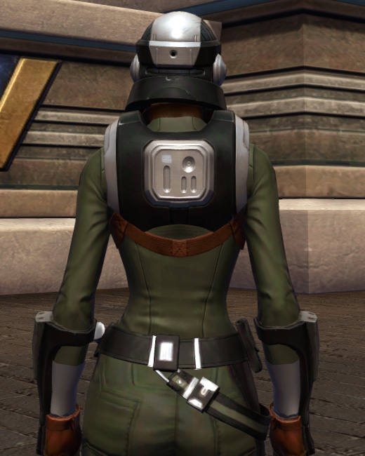 Established Foothold Armor Set Back from Star Wars: The Old Republic.