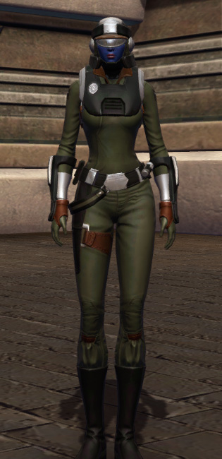 Established Foothold Armor Set Outfit from Star Wars: The Old Republic.