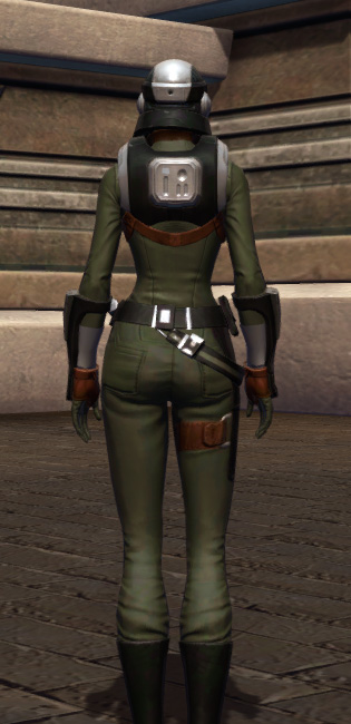 Established Foothold Armor Set player-view from Star Wars: The Old Republic.