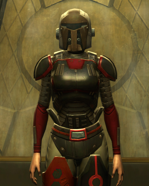 Eternal Battler Boltblaster Armor Set Preview from Star Wars: The Old Republic.