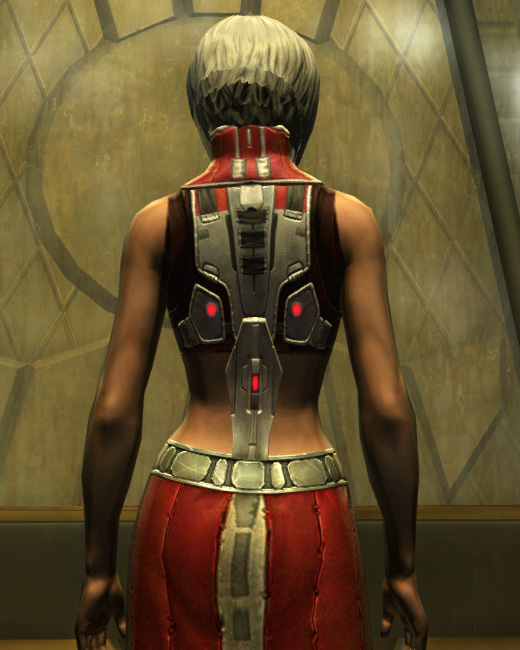 Eternal Battler Duelist Armor Set Back from Star Wars: The Old Republic.