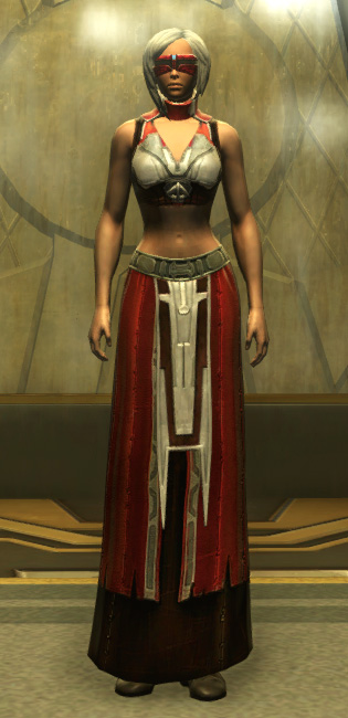 Eternal Battler Duelist Armor Set Outfit from Star Wars: The Old Republic.