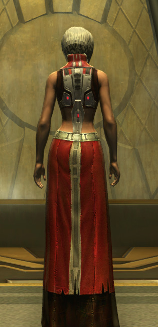 Eternal Battler Duelist Armor Set player-view from Star Wars: The Old Republic.