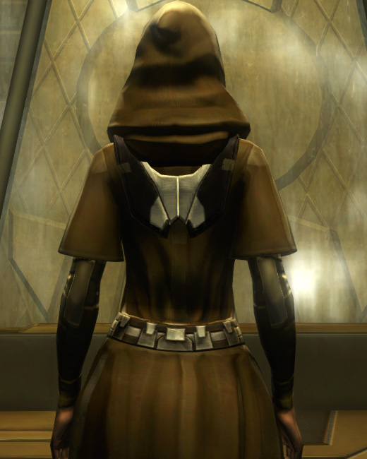 Eternal Conqueror Pummeler Armor Set Back from Star Wars: The Old Republic.