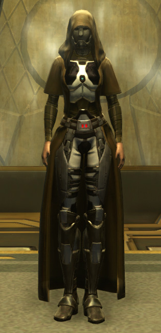 Eternal Battler Bulwark Armor Set Outfit from Star Wars: The Old Republic.