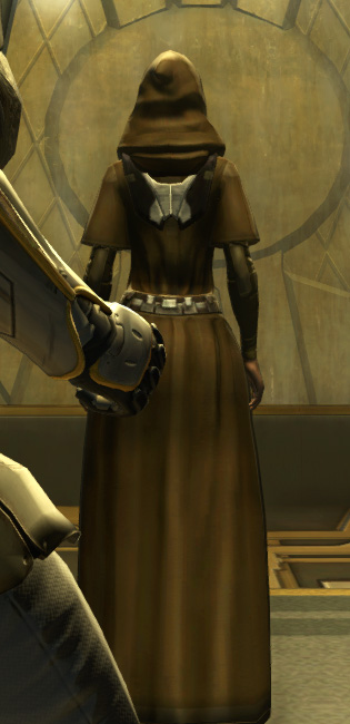 Eternal Battler Bulwark Armor Set player-view from Star Wars: The Old Republic.