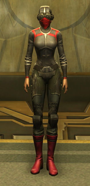 Eternal Battler Targeter Armor Set Outfit from Star Wars: The Old Republic.